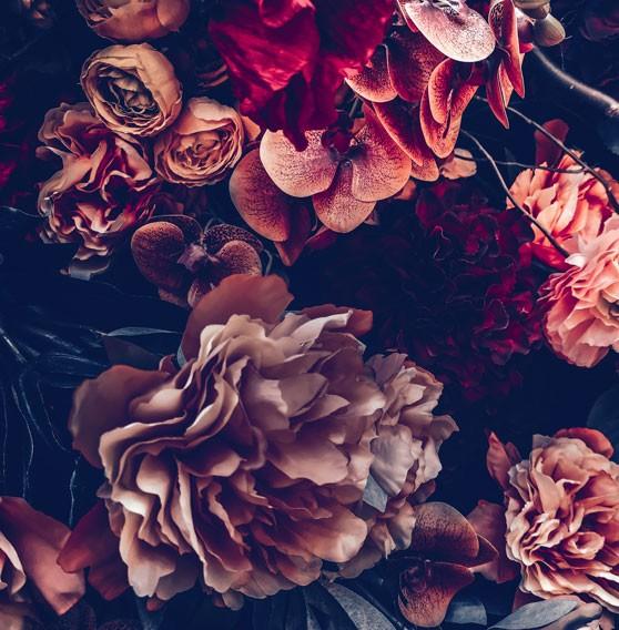 fleurs artificielles pour tombes à Gien